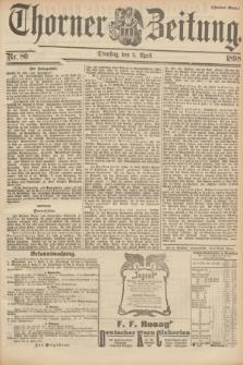 Thorner Zeitung. 1898, Nr. 80 (5 April) - Zweites Blatt