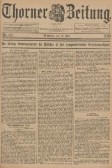 Thorner Zeitung : Begründet 1760. 1898, Nr. 115 (18 Mai) + dod.