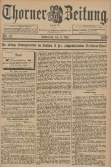 Thorner Zeitung : Begründet 1760. 1898, Nr. 117 (21 Mai)