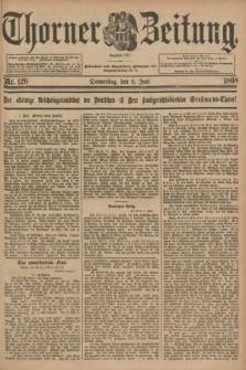 Thorner Zeitung : Begründet 1760. 1898, Nr. 126 (2 Juni)