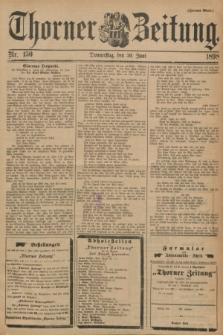 Thorner Zeitung. 1898, Nr. 150 (30 Juni) - Zweites Blatt