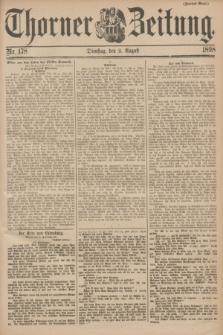 Thorner Zeitung. 1898, Nr. 178 (2 August) - Zweites Blatt