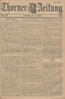 Thorner Zeitung. 1898, Nr. 252 (27 Oktober) - Zweites Blatt