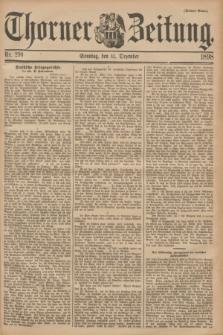 Thorner Zeitung. 1898, Nr. 290 (11 Dezember) - Drittes Blatt