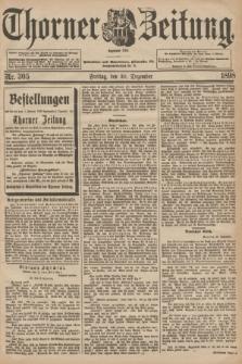 Thorner Zeitung : Begründet 1760. 1898, Nr. 305 (30 Dezember)