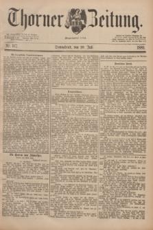 Thorner Zeitung : Begründet 1760. 1889, Nr. 167 (20 Juli) + wkładka