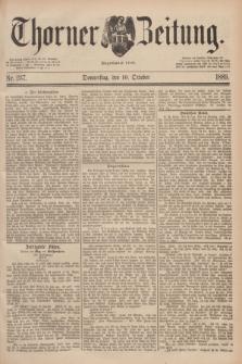 Thorner Zeitung : Begründet 1760. 1889, Nr. 237 (10 October)