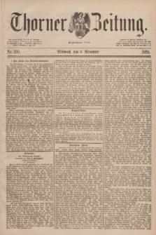 Thorner Zeitung : Begründet 1760. 1889, Nr. 260 (6 November)