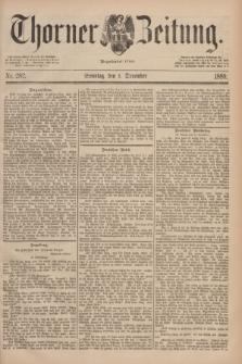 Thorner Zeitung : Begründet 1760. 1889, Nr. 282 (1 December) + dod.