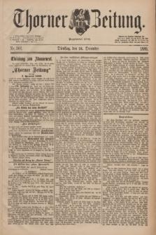 Thorner Zeitung : Begründet 1760. 1889, Nr. 301 (24 December)