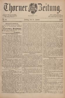 Thorner Zeitung : Begründet 1760. 1890, Nr. 26 (31 Januar)