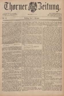 Thorner Zeitung : Begründet 1760. 1890, Nr. 32 (7 Februar)