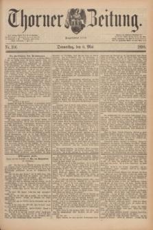 Thorner Zeitung : Begründet 1760. 1890, Nr. 106 (8 Mai)