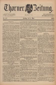 Thorner Zeitung : Begründet 1760. 1890, Nr. 107 (9 Mai)