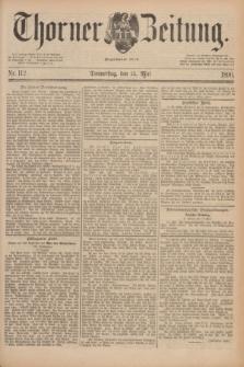 Thorner Zeitung : Begründet 1760. 1890, Nr. 112 (15 Mai)