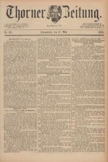 Thorner Zeitung : Begründet 1760. 1890, Nr. 113 (17 Mai)