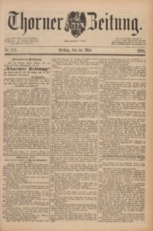 Thorner Zeitung : Begründet 1760. 1890, Nr. 123 (30 Mai)