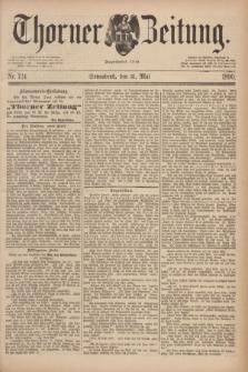 Thorner Zeitung : Begründet 1760. 1890, Nr. 124 (31 Mai)