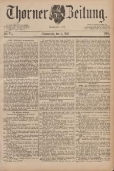 Thorner Zeitung : Begründet 1760. 1890, Nr. 154 (5 Juli)