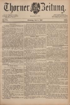Thorner Zeitung : Begründet 1760. 1890, Nr. 155 (6 Juli)