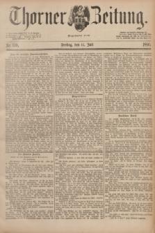 Thorner Zeitung : Begründet 1760. 1890, Nr. 159 (11 Juli)
