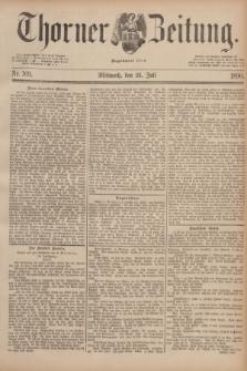 Thorner Zeitung : Begründet 1760. 1890, Nr. 169 (23 Juli)