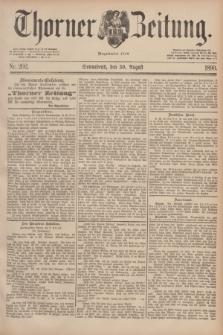 Thorner Zeitung : Begründet 1760. 1890, Nr. 202 (30 August)