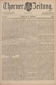 Thorner Zeitung : Begründet 1760. 1890, Nr. 210 (9 September)