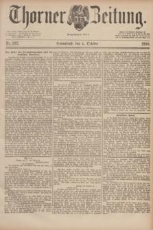 Thorner Zeitung : Begründet 1760. 1890, Nr. 232 (4 October)