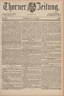 Thorner Zeitung : Begründet 1760. 1890, Nr. 235 (8 October)