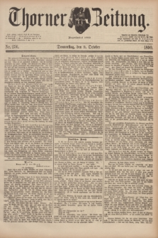 Thorner Zeitung : Begründet 1760. 1890, Nr. 236 (9 October)