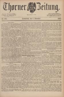 Thorner Zeitung : Begründet 1760. 1890, Nr. 262 (8 November)