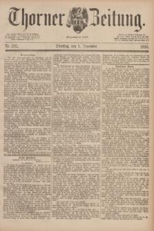 Thorner Zeitung : Begründet 1760. 1890, Nr. 282 (2 December)