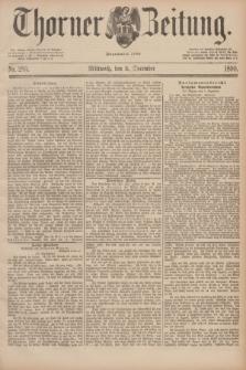 Thorner Zeitung : Begründet 1760. 1890, Nr. 283 (3 December)