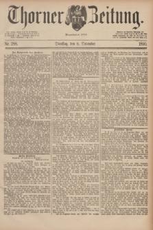 Thorner Zeitung : Begründet 1760. 1890, Nr. 288 (9 December)