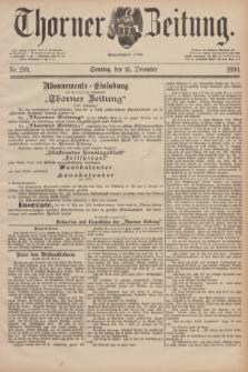 Thorner Zeitung : Begründet 1760. 1890, Nr. 299 (21 December) + dod.