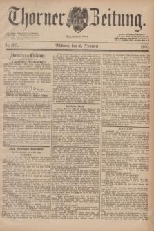 Thorner Zeitung : Begründet 1760. 1890, Nr. 305 (31 December) + dod.
