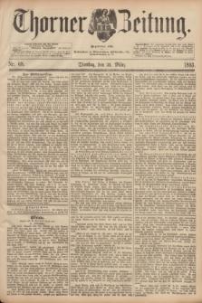 Thorner Zeitung : Begründet 1760. 1893, Nr. 68 (21 März)