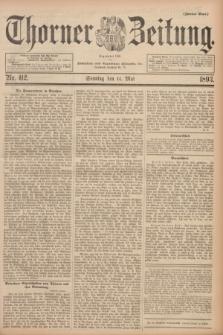 Thorner Zeitung : Begründet 1760. 1893, Nr. 112 (14 Mai) - Zweites Blatt