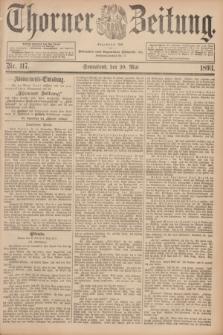 Thorner Zeitung : Begründet 1760. 1893, Nr. 117 (20 Mai)