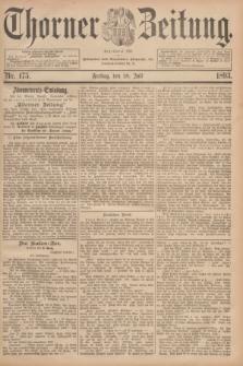 Thorner Zeitung : Begründet 1760. 1893, Nr. 175 (28 Juli)