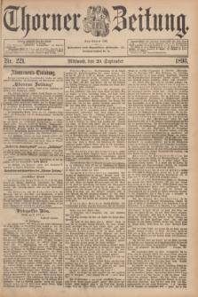 Thorner Zeitung : Begründet 1760. 1893, Nr. 221 (20 September)