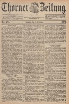 Thorner Zeitung : Begründet 1760. 1893, Nr. 285 (5 Dezember)