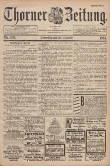 Thorner Zeitung : Begründet 1760. 1893, Nr. 299 (21 Dezember) - Zweites Blatt