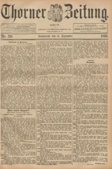 Thorner Zeitung : Begründet 1760. 1895, Nr. 216 (14 September)