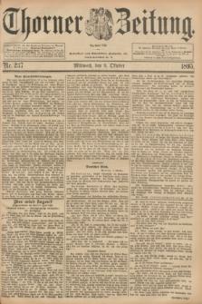 Thorner Zeitung : Begründet 1760. 1895, Nr. 237 (9 Oktober)