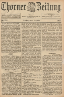 Thorner Zeitung : Begründet 1760. 1895, Nr. 283 (3 Dezember) + dod.