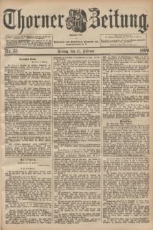Thorner Zeitung : Begründet 1760. 1899, Nr. 35 (10 Februar)
