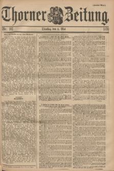 Thorner Zeitung. 1899, Nr. 102 (2 Mai) - Zweites Blatt