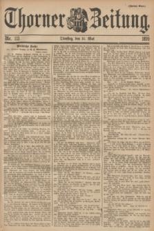Thorner Zeitung. 1899, Nr. 113 (16 Mai) - Zweites Blatt